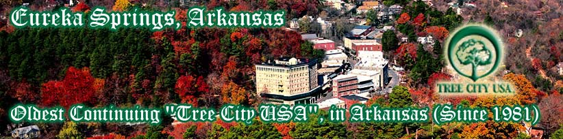 "Oldest Continuing ""Tree City USA"", in Arkansas (Since 1981)"